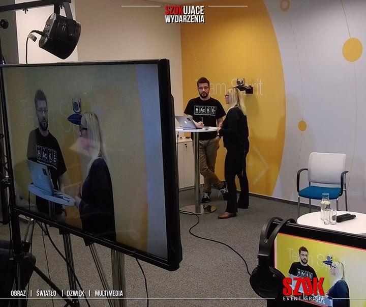 Dla CAPGEMINIprzygotowaliśmy wideokonferencję dla pracowników tej firmy z całej …
