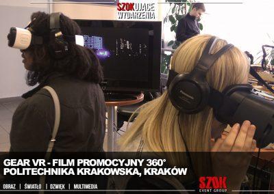 Politecnika Krakowskia Film Reklamowy 360 Kraków