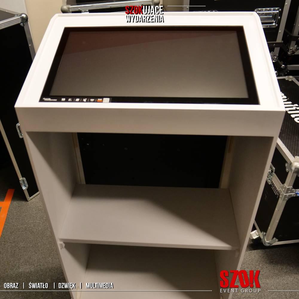 Mównica multimedialna z ekranem dotykowym