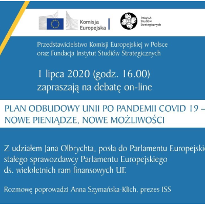 Plan odbudowy Unii po pandemii COVID 19 – Nowe pieniądze, nowe możliwości