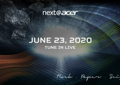 Next@Acer 2020 | Studio Acer Live