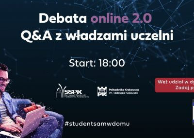 Rektorzy ONLINE 2.0 – Q&A z władzami uczelni